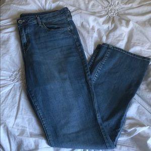 a.n.a light wash bootcut jeans
